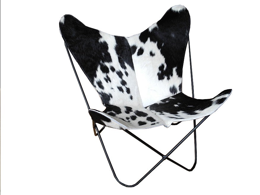 butterfly chair by knoll at 1stdibs. Black Bedroom Furniture Sets. Home Design Ideas