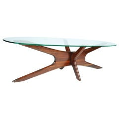 "Elongated ""Jacks"" Cocktail Table by Adrian Pearsall"