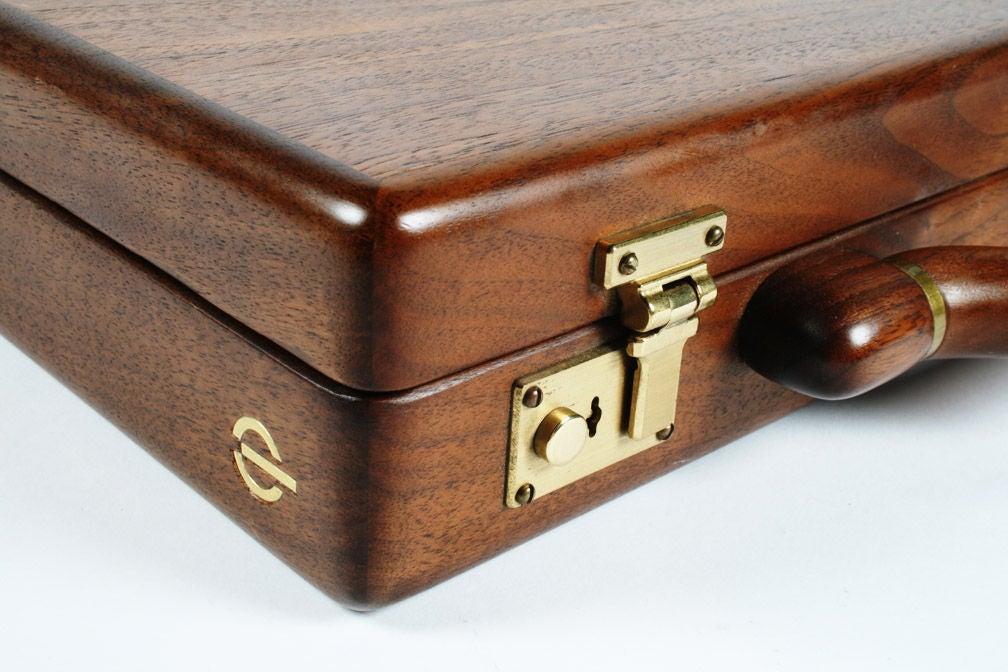 Custom Wooden Attache Case By Jeffrey Benjamin At 1stdibs