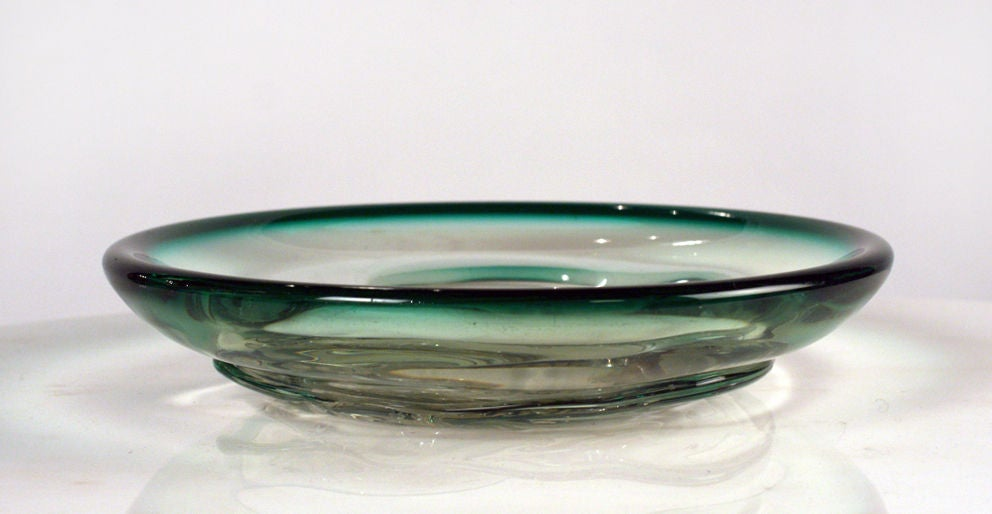 glass 39 fish bowl 39 dish for sale at 1stdibs