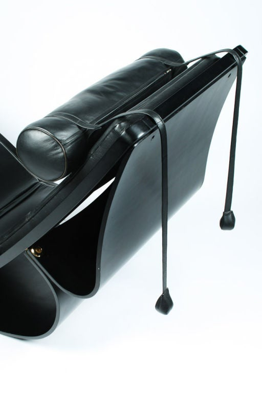 Rio rocking chaise by oscar niemeyer at 1stdibs for Chaise longue oscar niemeyer