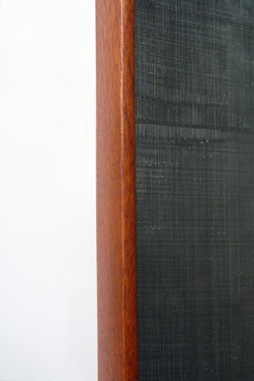 Swedish Tall Teak Framed Entry Mirror By Ab Glas And Tr 228