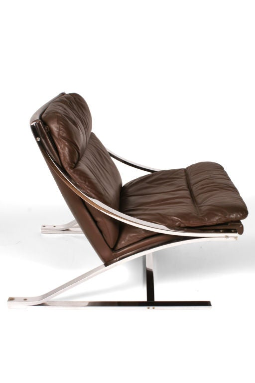Quot Zeta Quot Chair By Paul Tuttle For Strassle For Sale At 1stdibs