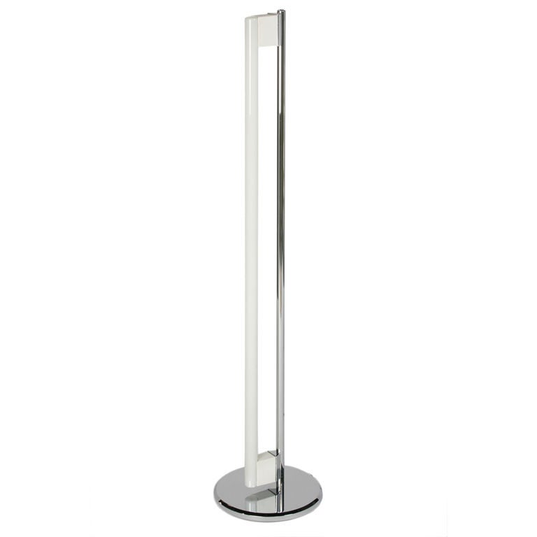 fluorescent tube floor lamp by eileen gray at 1stdibs With tube t floor lamp