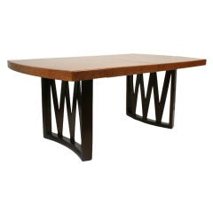 Cork Top Dining Table by Paul Frankl for Johnson Furniture Co.