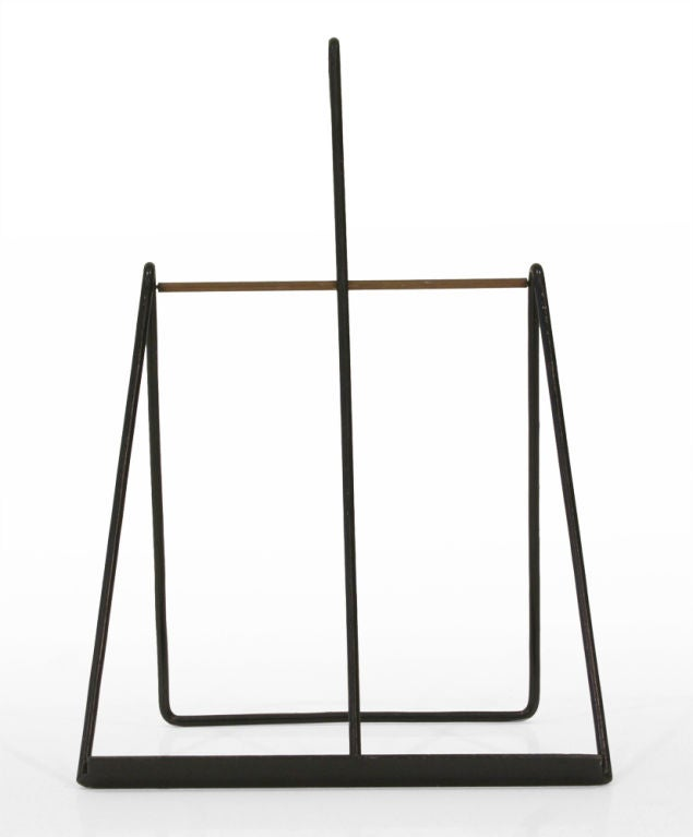 Mid-20th Century Easel Standing Fireplace Tool Set by Illums Bohlighus For Sale
