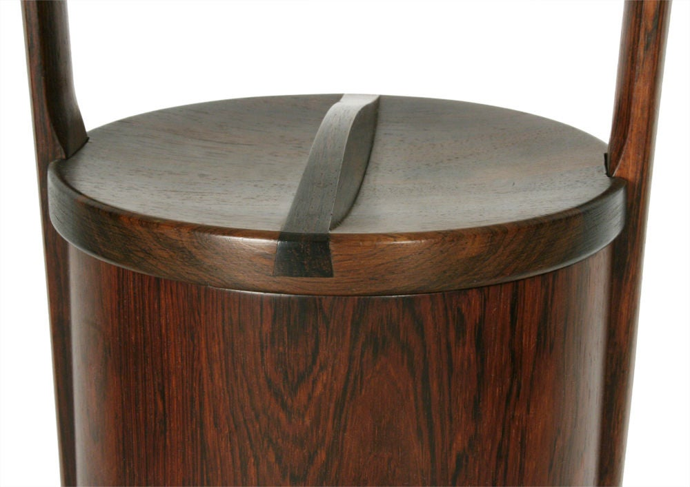 Palisander Ice Bucket by Jens Quistgaard for Dansk In Excellent Condition For Sale In New York, NY