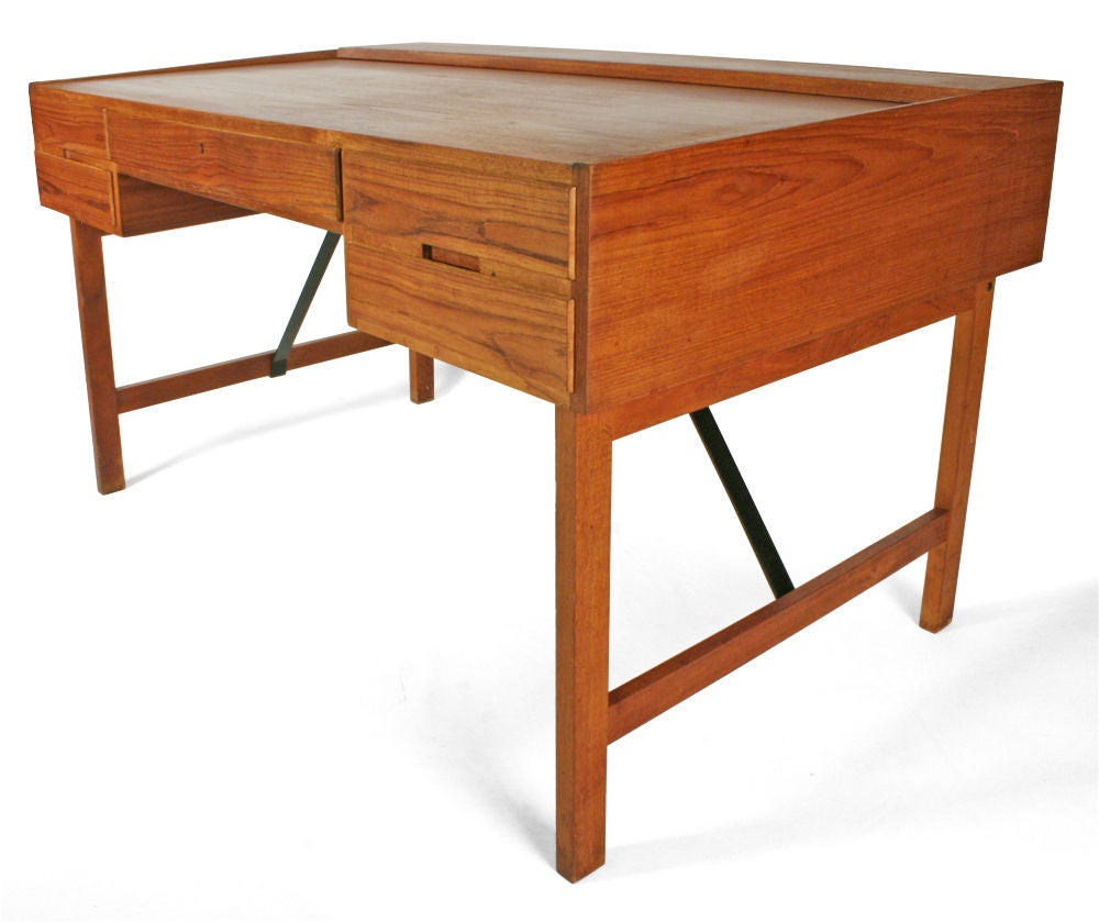 danish architect 39 s desk by svend and madsen at 1stdibs