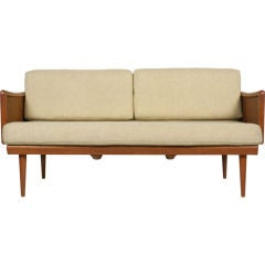 Convertible Settee Daybed by Peter Hvidt for France & Sons