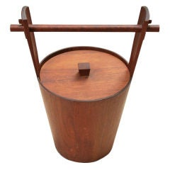 Teak Ice Bucket by Arni Form