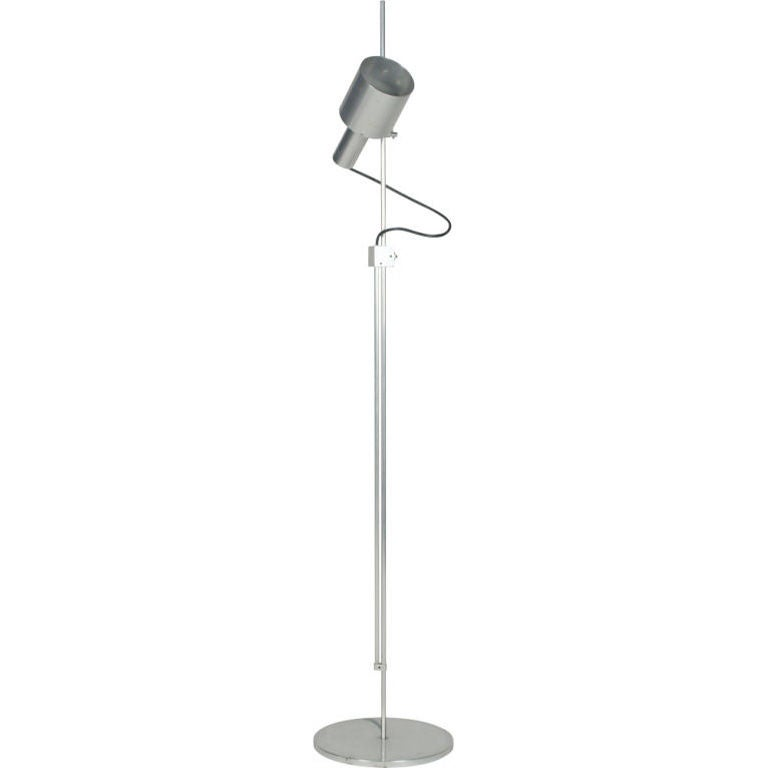 Precision Machined Aluminum Reading Lamp by Peter Nelson