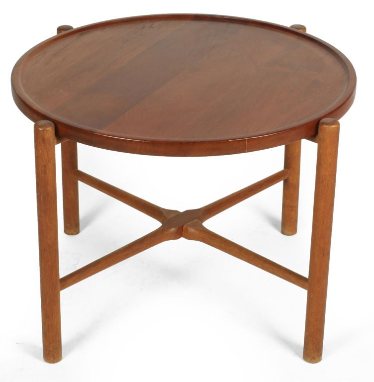 Knock Down Occasional Table By Hans J Wegner For Sale At 1stdibs
