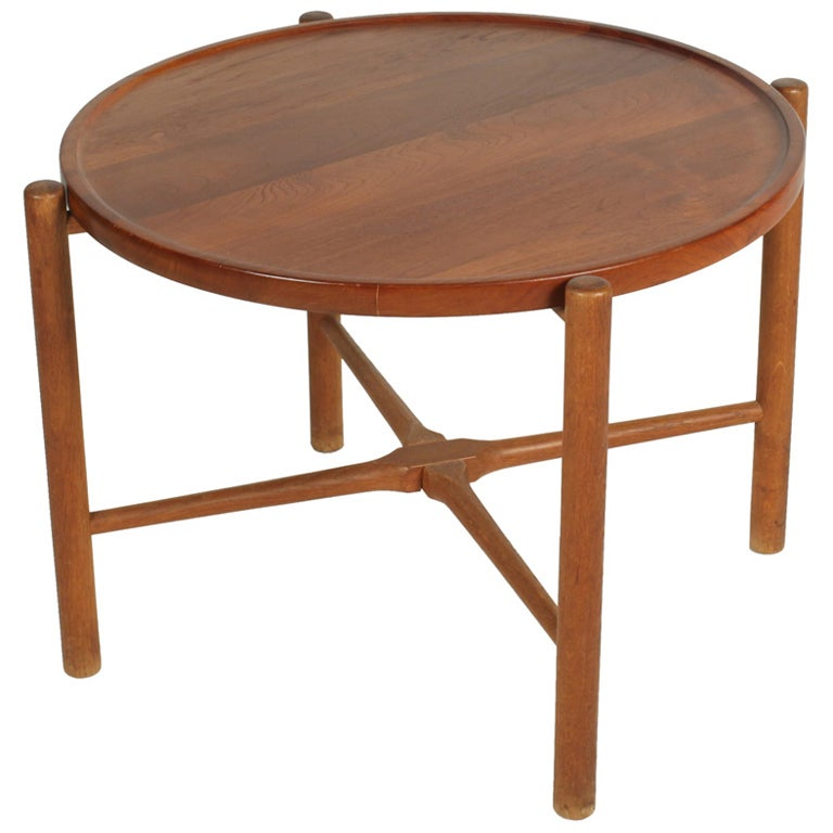 Knock Down Occasional Table By Hans J Wegner At 1stdibs