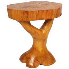 Sculpted Root Table in the Style of Alexandre Noll