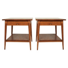 Pair of Planner Group Lamp Tables by Paul McCobb for Winchendon