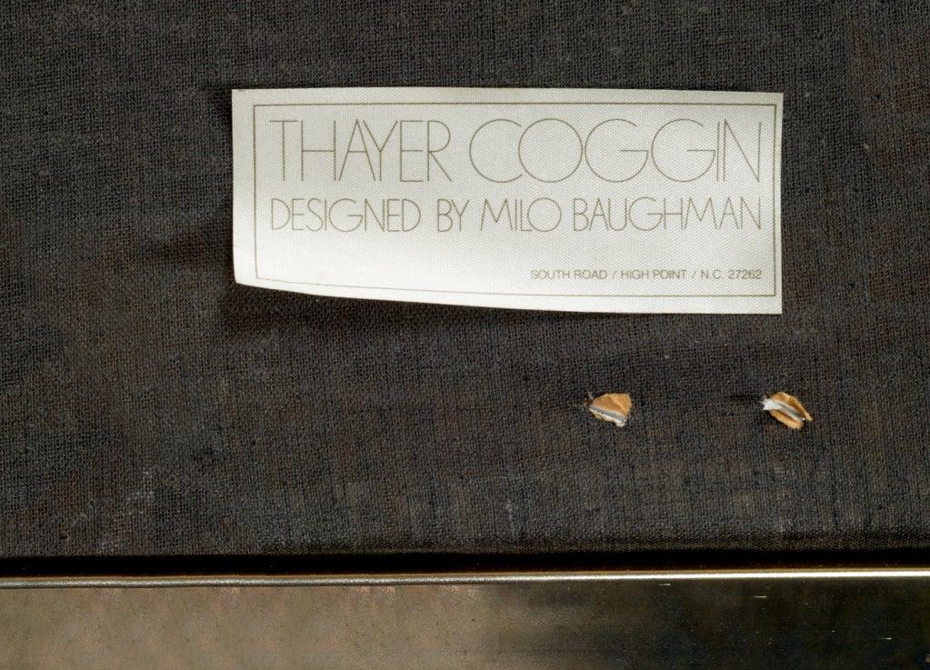 Brass X Frame Bench by Milo Baughman for Thayer Coggin 6