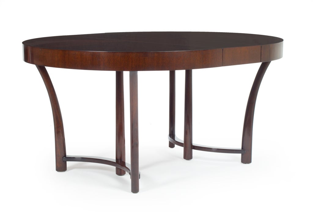 walnut expandable dining table by widdicomb for sale at
