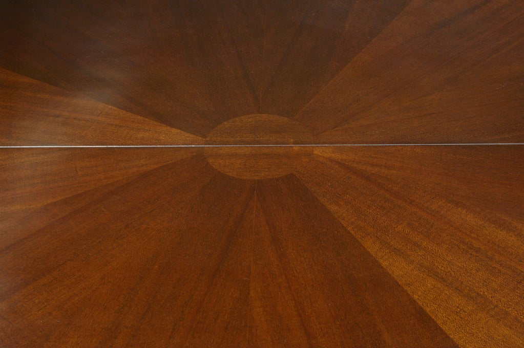 Mid-20th Century Round and Racetrack Dining Table after T.H. Robsjohn-Gibbings for Widdicomb For Sale