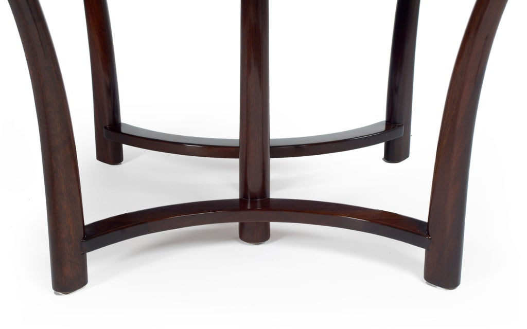 Round and Racetrack Dining Table after T.H. Robsjohn-Gibbings for Widdicomb For Sale 1