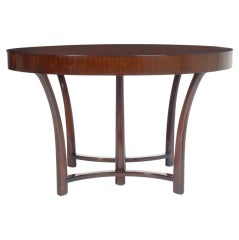 Round and Racetrack Dining Table by T.H. Robsjohn-Gibbings for Widdicomb