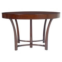 Round and Racetrack Dining Table after T.H. Robsjohn-Gibbings for Widdicomb
