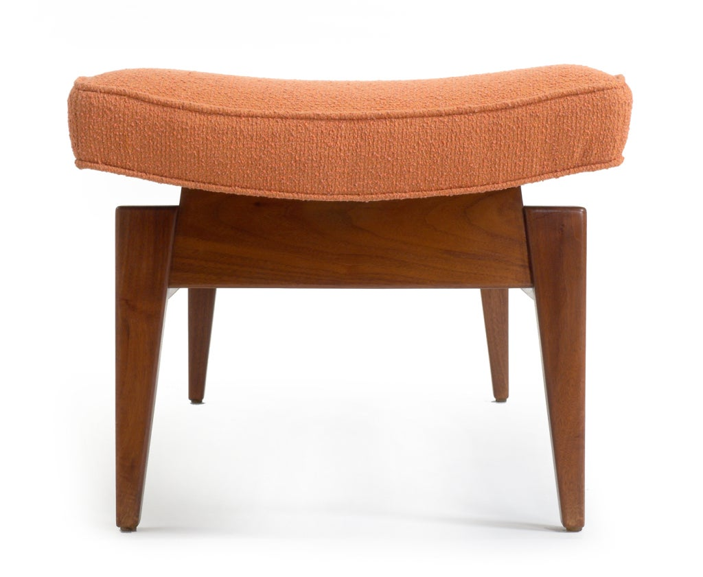 Jens risom floating bench for sale at 1stdibs - Six Foot Long Floating Upholstered Bench By Jens Risom 2