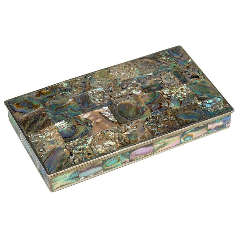 Abalone Jewelry Box