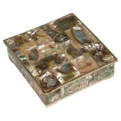 Mexican Abalone Keepsake Box after Salvador Teran