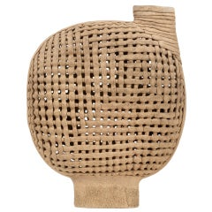 Interwoven Stoneware Vessel by Allester Dillon