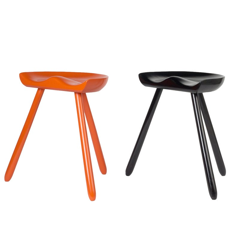 Three Legged Milking Stools After Mogens Lassen At 1stdibs