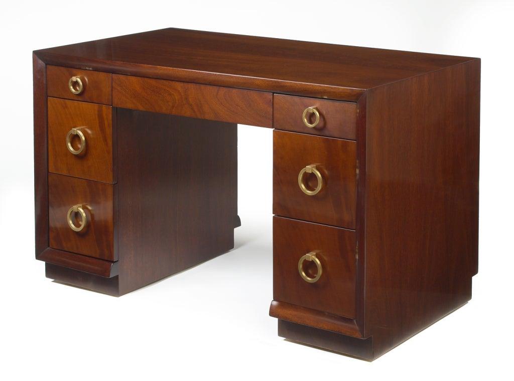 Kneehole Desk by T.H. Robsjohn-Gibbings for Widdicomb 3