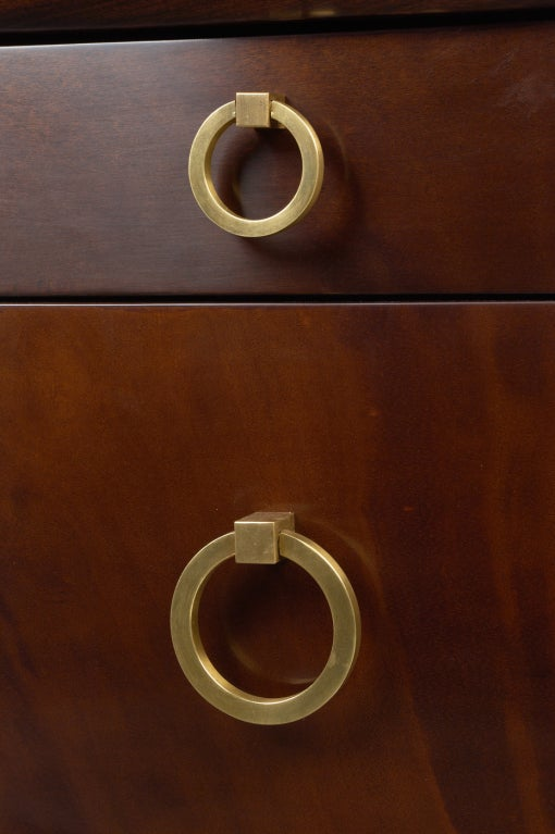 Kneehole Desk by T.H. Robsjohn-Gibbings for Widdicomb 4