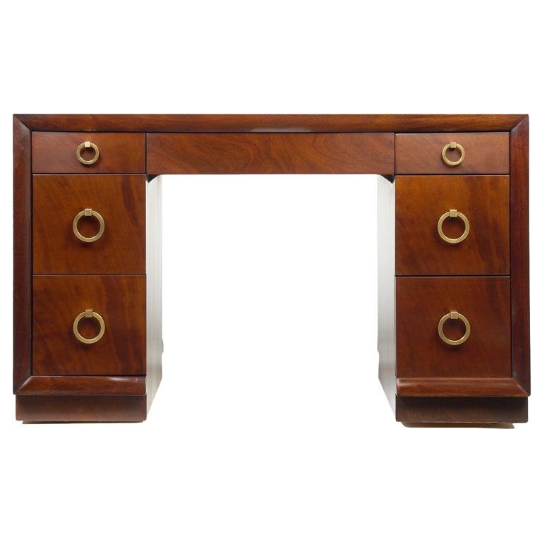 Kneehole Desk by T.H. Robsjohn-Gibbings for Widdicomb 1