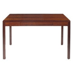 Mid Century Modern Parsons Writing Desk by Harvey Probber