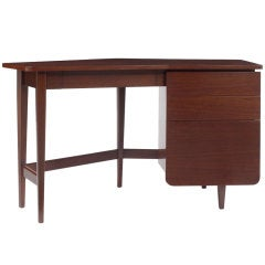 Wing Writing Desk by Bertha Schaefer for Singer and Sons