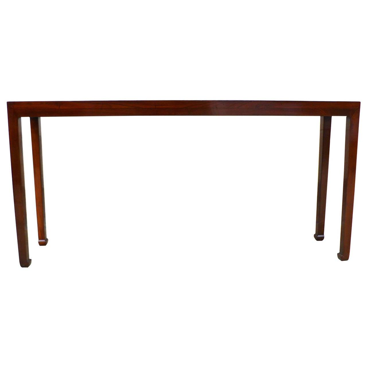 Ju Mu Wood Console Table