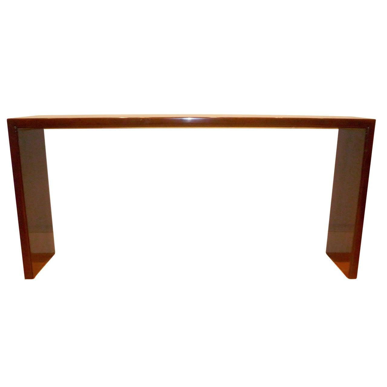 Fine Ju Mu Console Table At 1stdibs
