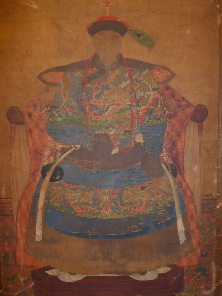 Important Chinese Qing Dynasty Imperial Prince ...