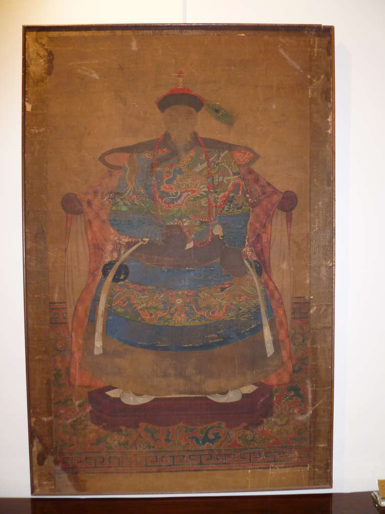 Important Chinese Qing Dynasty Imperial Prince