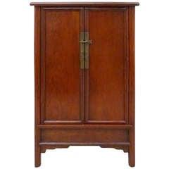 Fine Ju Mu Wood Scholar's Cabinet