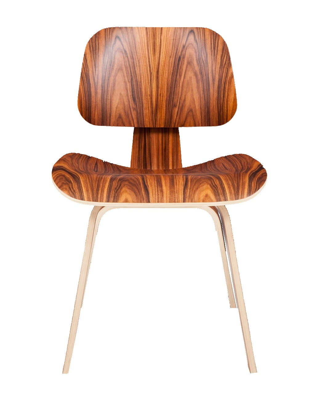 Eames molded plywood dining chair - Charles Eames Molded Plywood Dining Chairs In Palisander 2