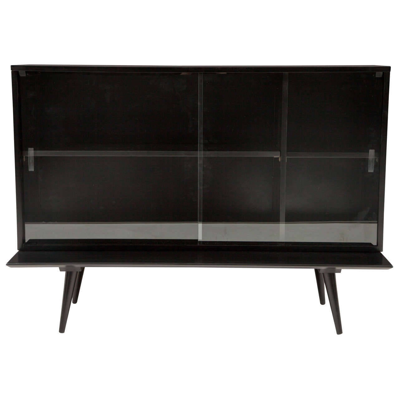 Paul Mccobb Planner Group Bookcase On Bench At 1stdibs