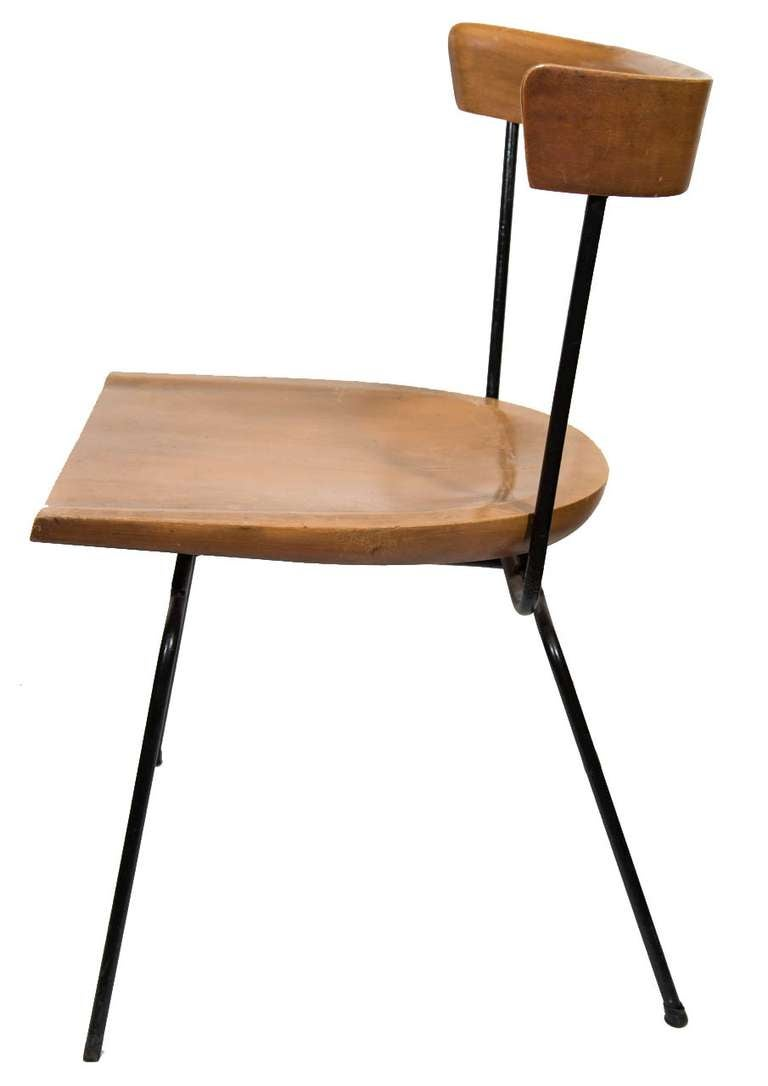 paul mccobb 1535 iron and maple dining chairs is no longer available