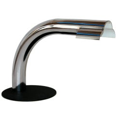 1950s Italian Chrome Desk Lamp for Raymor