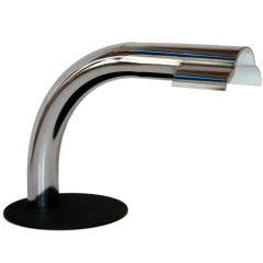 1950s Italian Chrome Desk Lamp for Raymor