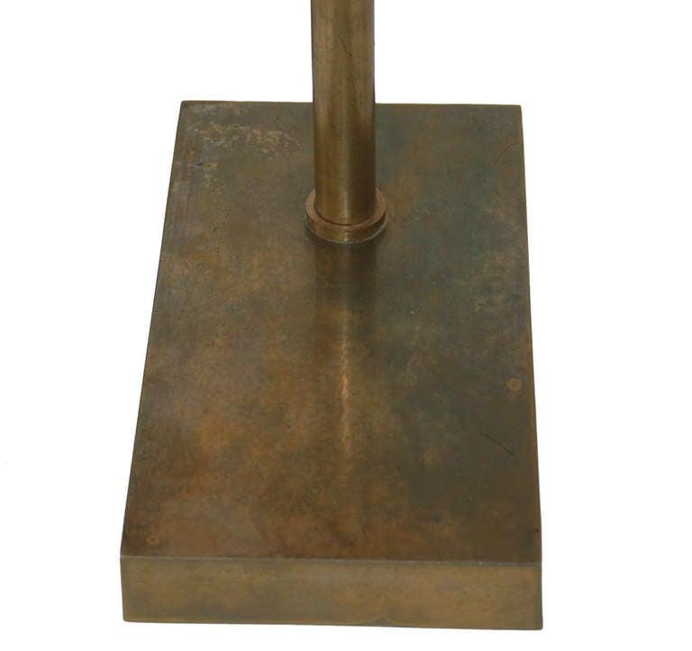 Bronze Articulating Desk Lamp at 1stdibs
