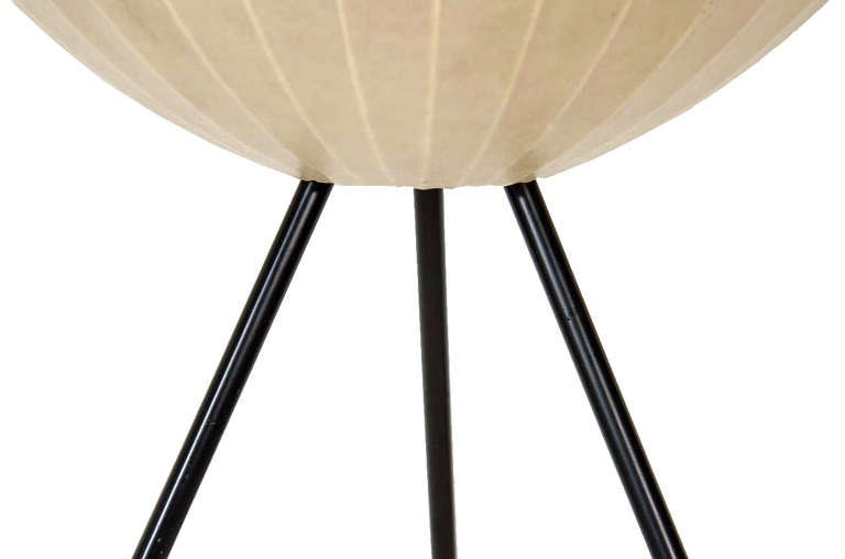 1950s Tripod Bubble Floor Lamp On Tripod Base For Sale At