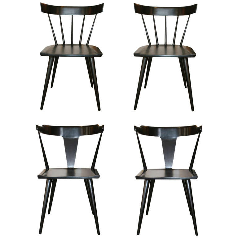 High Quality Paul McCobb Planner Group Dining Chairs For Sale