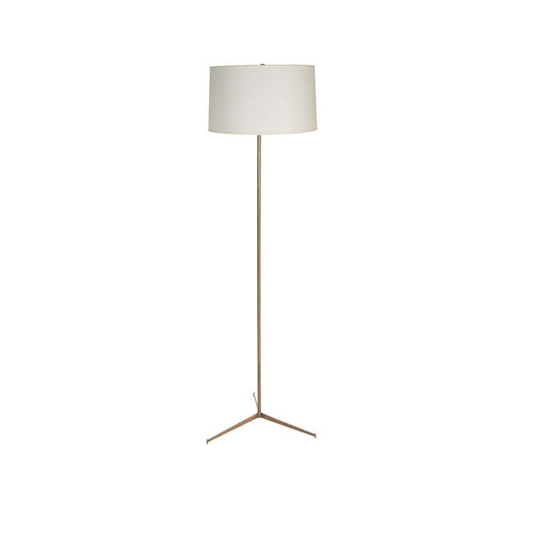 Anders Brass Tripod Floor Lamp