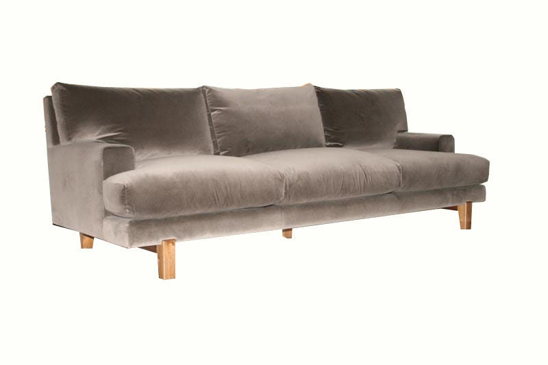 Alexander Walnut Base Sofa For Sale At 1stdibs